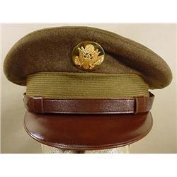 WW2 US NCO VISOR CAP
