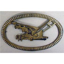 WW1 GERMAN MACHINE GUNNER'S EMBLEM