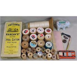 LOT OF VINTAGE SEWING ITEMS - INCL. ADVERTISING -