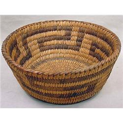 PIMA OR PAPAGO NATIVE AMERICAN INDIAN BASKET - App