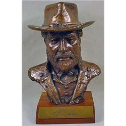 ART BUST OF ROBERT E. LEE - BRONZE COLOR - Approx.