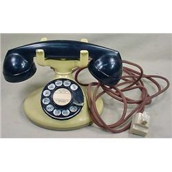 VINTAGE WESTERN ELECTRIC DESK TELEPHONE - Smooth R