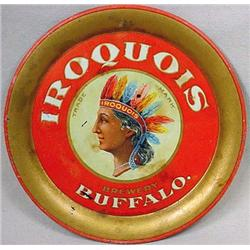 """VINTAGE IROQUOIS BREWERY TIP TRAY - Approx. 4"""" dia"""