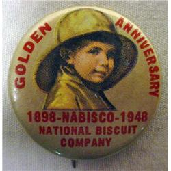 1948 NABISCO GOLDEN ANNIVERSARY CELLULOID ADVERTIS