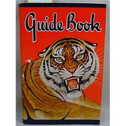 1942 CHICAGO ZOOLOGICAL PARK GUIDE BOOK