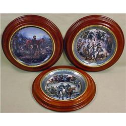 LOT OF 3 LTD. ED. CIVIL WAR COLLECTOR'S PLATES - B