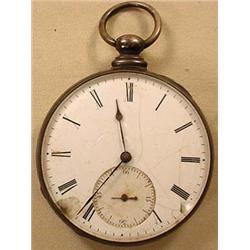 C. 1880'S POCKET WATCH - DOES NOT RUN