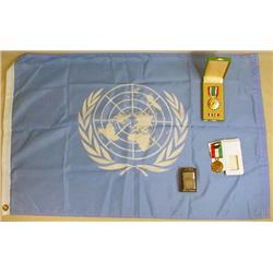 LOT OF UNITED NATIONS GULF WAR MEMORABILIA - Incl.