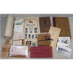 LOT OF MISC. MILITARY AND WAR RELATED ITEMS - Incl