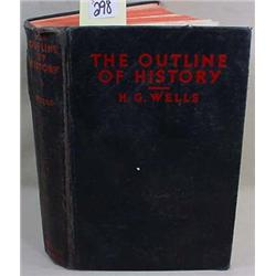 "1931 H. G. WELLS ""THE OUTLINE OF HISTORY"" HARDCOVE"