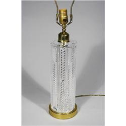 A Waterford Crystal Table Lamp.