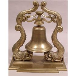 A 20th Century Reproduction Brass Bell.