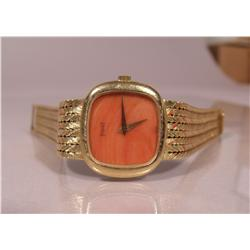 A Paiget, Vancleef, and Arpels Ladies 18 kt Yellow Gold Wristwatch.