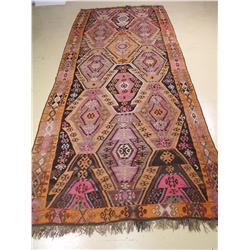 A Kilim Wool Rug.