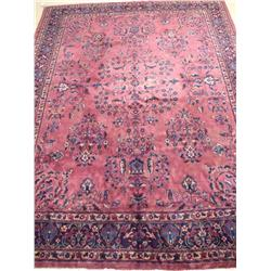 A Turkish Wool Rug.