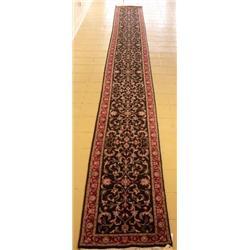 An Indo Persian Tabriz Wool Runner.