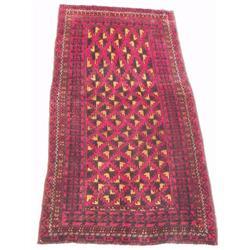 A Persian Balouch Wool Rug.