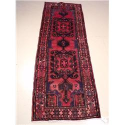 A Persian Zanjan Wool Runner.