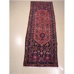 A Persian Mahal Wool Runner.