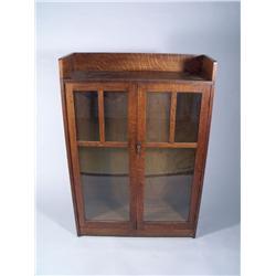 A Limbert Oak Arts and Crafts Bookcase,