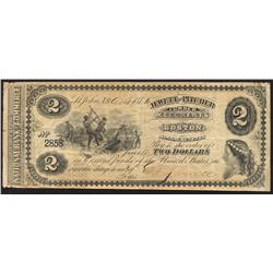 1875 Jewett and Pitcher $2