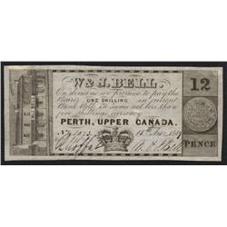 W & J Bell, 12 pence