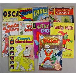 LOT OF 10 VINTAGE COMIC BOOKS - Some as Early as t