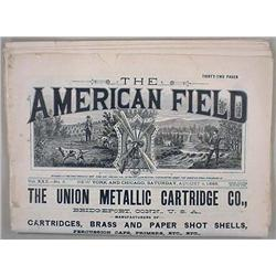 "8-4-1888 ""THE AMERICAN FIELD"" FIREARM RELATED NEWS"
