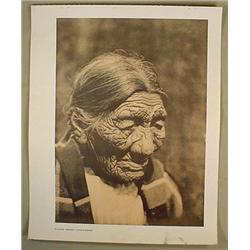 VINTAGE EDWARD S. CURTIS NATIVE AMERICAN INDIAN PR
