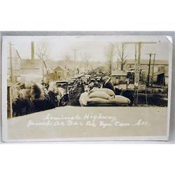 1920'S RPPC REAL PHOTO POSTCARD SEMINOLE, OK OIL B
