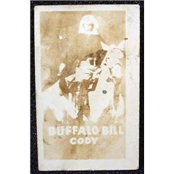 1948 TOPPS MAGIC PHOTO BUFFALO BILL CODY WILD WEST