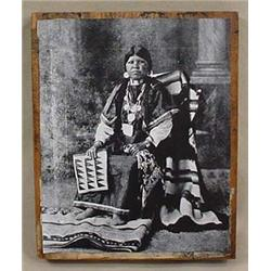 VINTAGE NATIVE AMERICAN INDIAN NEWSPAPER PRINTING