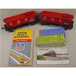 LOT OF VINTAGE RAILROAD RELATED ITEMS - Incl. 2 Li