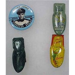 LOT OF ADVERTISING PREMIUMS - Incl. 3 Clickers, 1