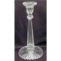 VINTAGE LEAD CRYSTAL CANDLESTICK HOLDER - Approx.