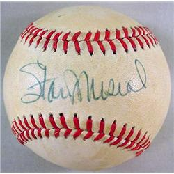 STAN MUSIAL AUTOGRAPHED BASEBALL - Official Rawlin