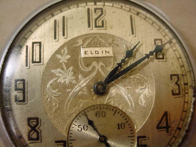 Vintage Elgin Pocket Watch Runs