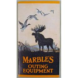 C. 1930'S MARBLE'S CATALOG - KNIVES, GUN EQUIP., M