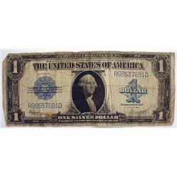 1923 1 DOLLAR SILVER CERTIFICATE - LARGE SIZE