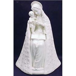 C. 1940'S HUMMEL MADONNA AND CHILD W/ FIRST US ZON