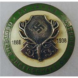 WW2 GERMAN NAZI HUNTING ASSOC. PIN