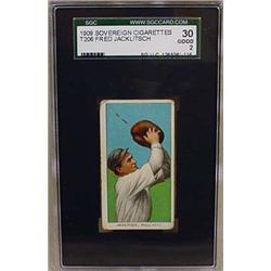 1910 T206 BASEBALL CARD - FRED JACKLITSCH, PHILLIE