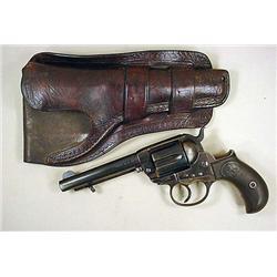 C. 1900 COLT MODEL 1877 THUNDERER REVOLVER W/ ORIG