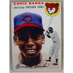 1954 TOPPS ERNIE BANKS ROOKIE BASEBALL CARD NO. 94