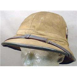 WW2 GERMAN NAZI AFRICA CORP. PITH HELMET