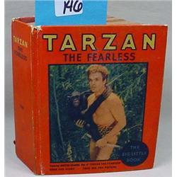 "RARE 1934 ""TARZAN THE FEARLESS"" BIG LITTLE BOOK -"