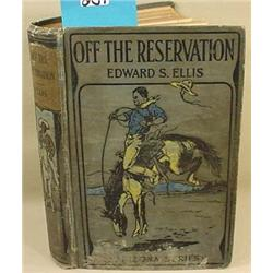 """1908 """"OFF THE RESERVATION OR CAUGHT IN AN APACHE R"""