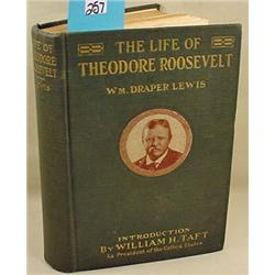 """1919 """"THE LIFE OF THEODORE ROOSEVELT"""" HARDCOVER BO"""