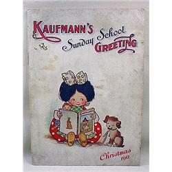 1912 CAUFMANN'S DEPT. STORE CHILD'S BOOK