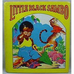 "1942 ""LITTLE BLACK SAMBO"" HARDCOVER BOOK / SAALFIE"